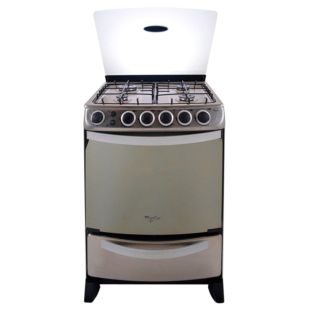 Cocina whirlpool mod wlx603aix 4 hornallas acero for Encendido electronico cocina whirlpool