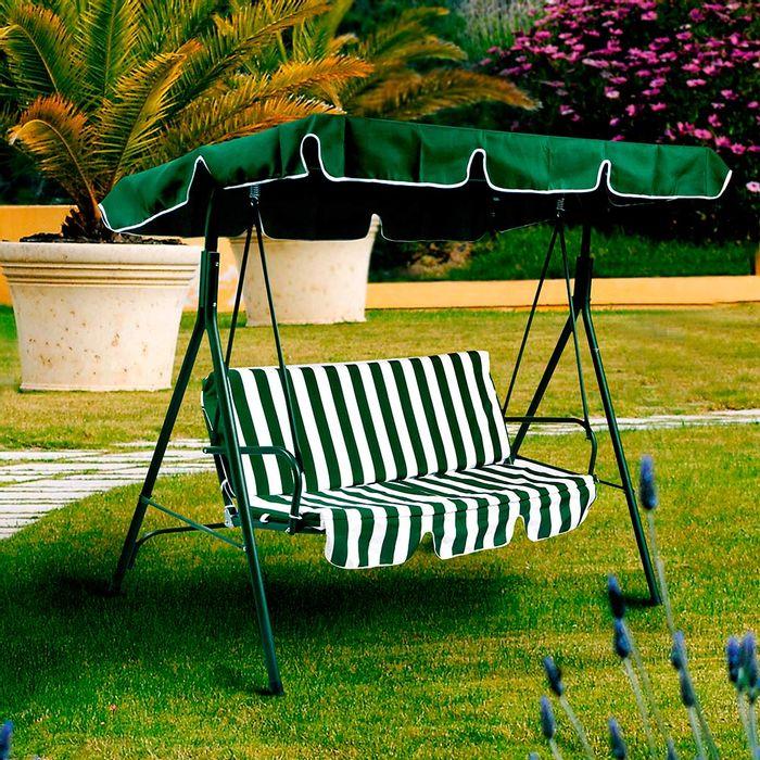 hamaca para jardn color verdeblanca geant - Hamacas Jardin