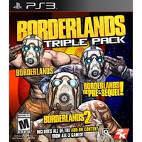 JUEGO-PS3-TRIPLE-PACK-BORDERLANDS-----------------