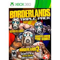 JUEGO-XBOX-TRIPLE-XBOX-BORDERLANDS----------------