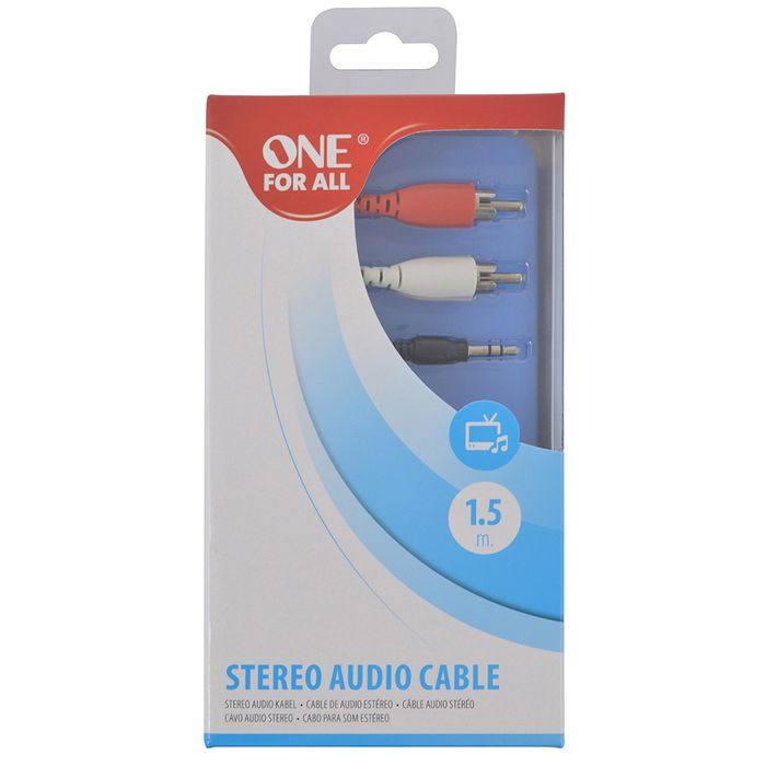 Cable-2-Rca-A-Spika-ONE-FOR-ALL