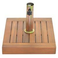 Base para sombrilla en madera 15 kg