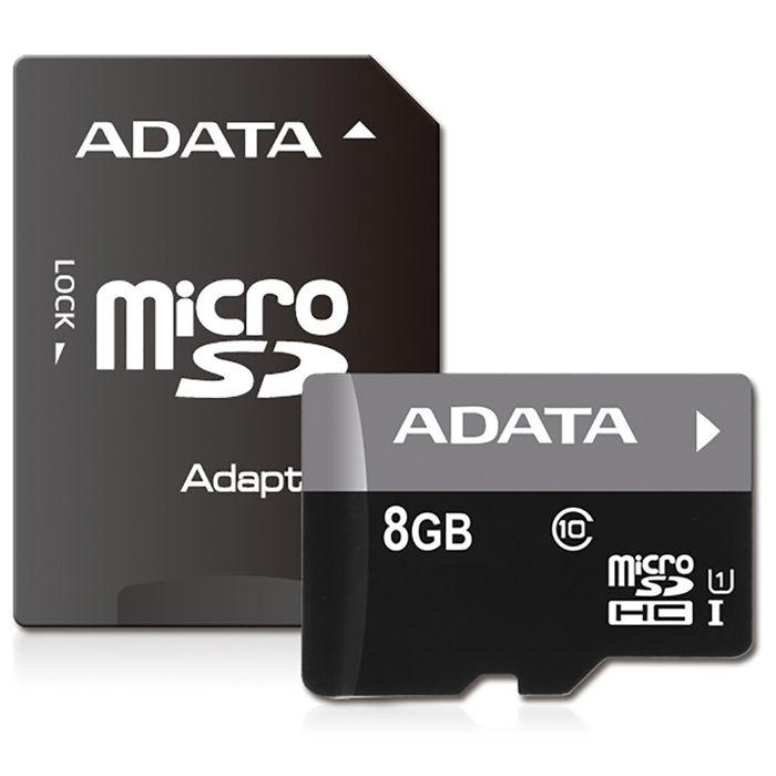 Tarjeta-micro-sdhc-8-GB-A-DATA-clase-10-