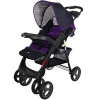 Coche-con-baby-silla-INFANTI-Mod.-SE30-gris-negro