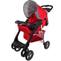 Coche-con-baby-silla-INFANTI-Mod.-SE30-rojo