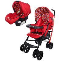 Coche-con-baby-silla-BEBESIT-Mod.-cross-rojo-a7