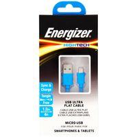 Cable-flat-USB-MicroUSB-ENERGIZER-1.2-m-azul----