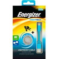 Cable-llavero-ENERGIZER-USB-MicroUSB-azul--------