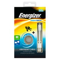 Cable-llavero-ENERGIZER-USB-MicroUSB-blanco-------