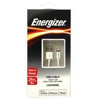Cable-USB-Lightning-ENERGIZER-20-cm-blanco--------