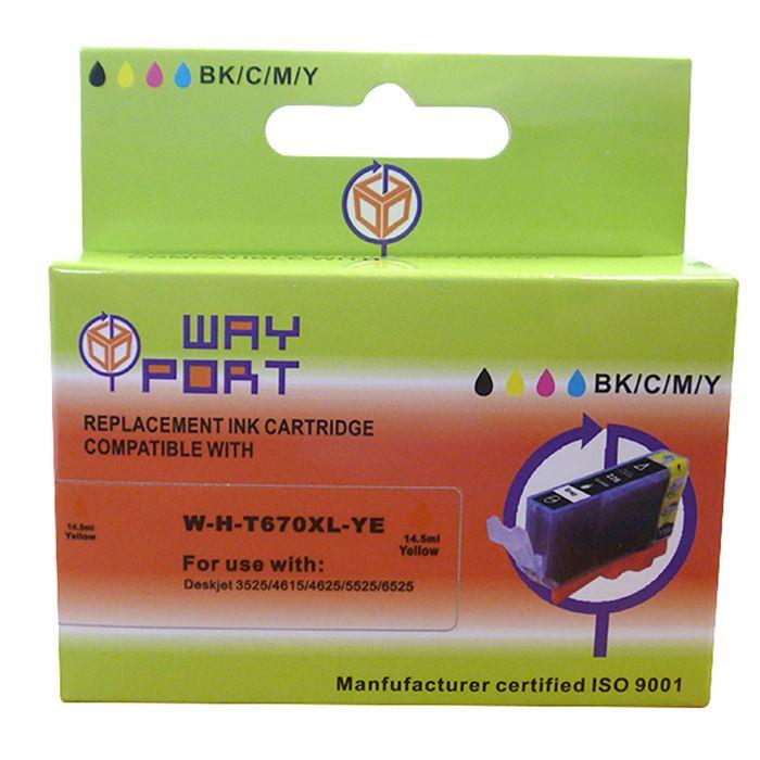 Cartucho-Way-Port-para-HP-Mod.--670XL--AMARILLO