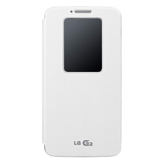 Flip-Cover-LG-G2-Quickwindow-Blanco