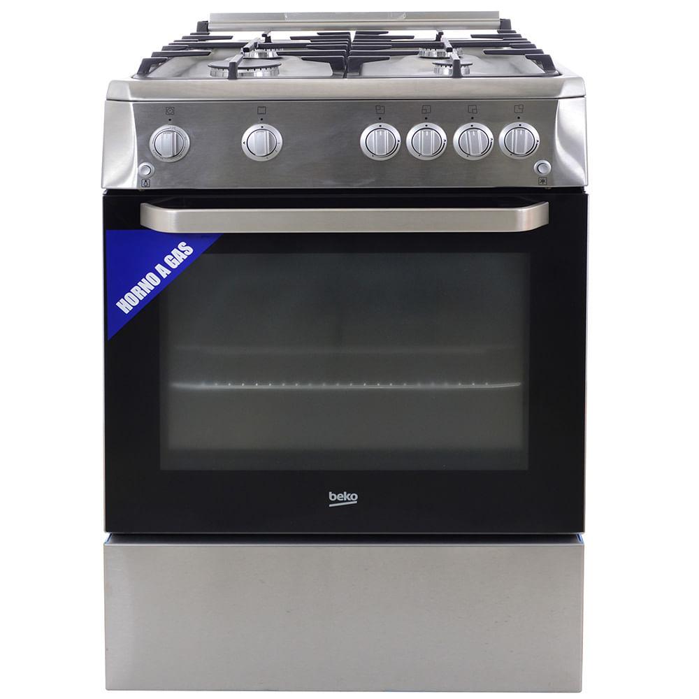 Cocina beko mod csg62112dx 4 hornallas supergas geant - Cocina gas beko ...