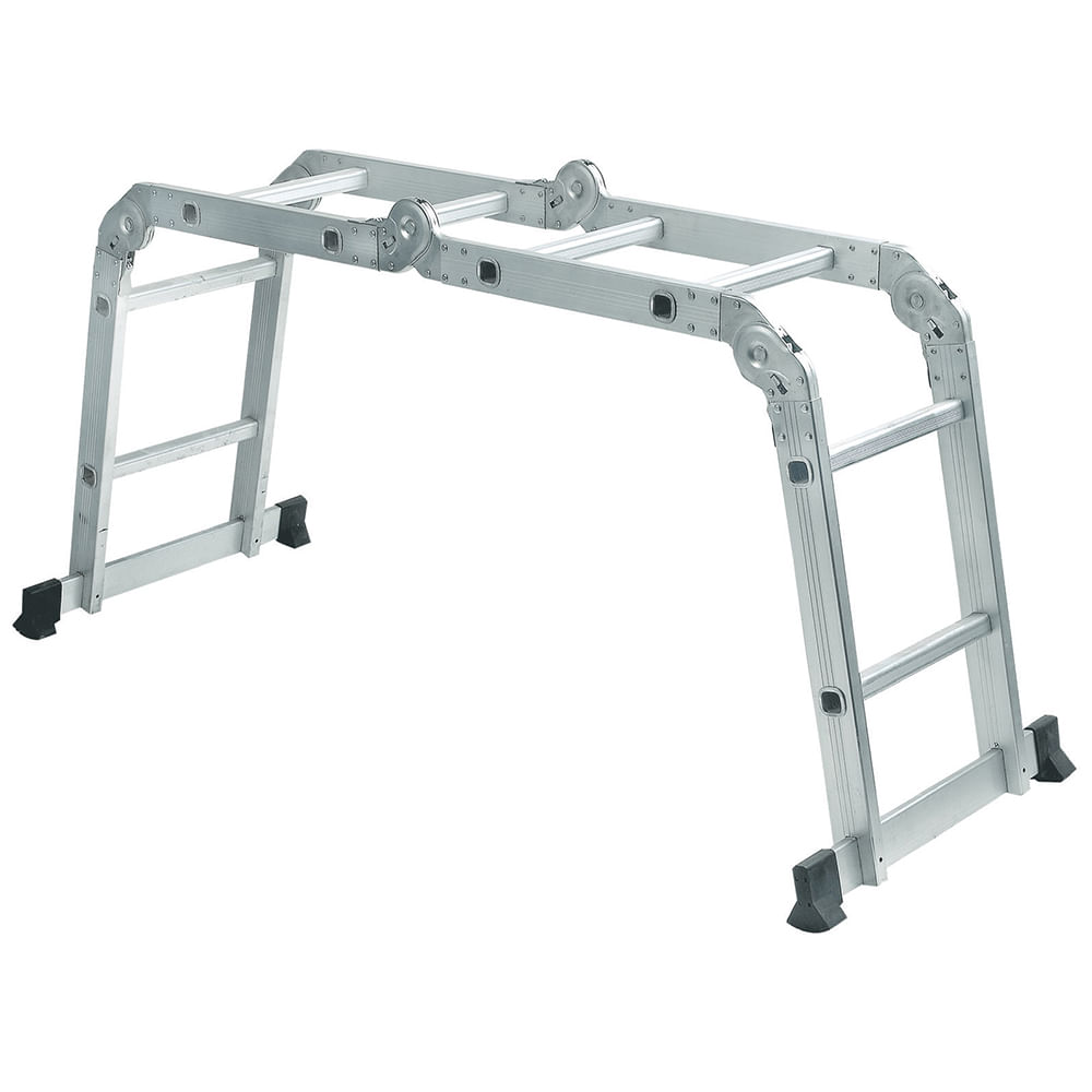 Escalera multiprop sito de aluminio mts geant for Escalera multiproposito