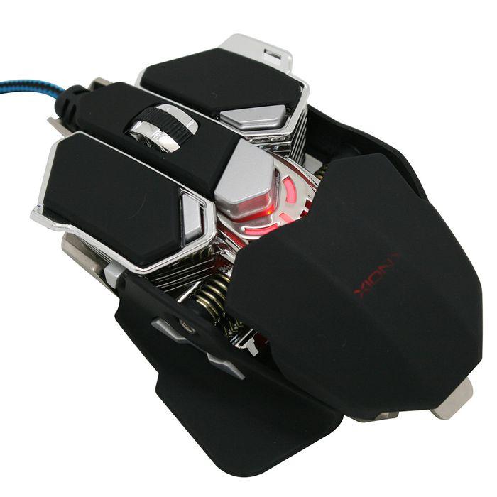 Mouse-XION-Gamer-Mod.-MOGAMER500-metal-----------------