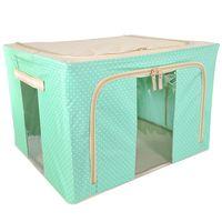 Caja-66-L-verde-agua-plegable-con-ventana-transparente