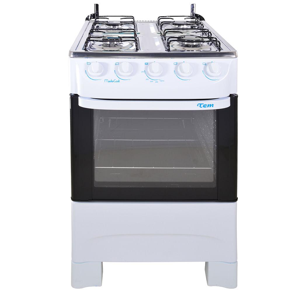 Cocina tem mod mastercook 4 hornallas superg s geant for Ofertas cocinas a gas