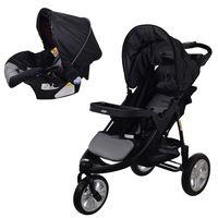 Coche-triciclo-con-baby-silla-BEBESIT-Mod.-fox-color-negro