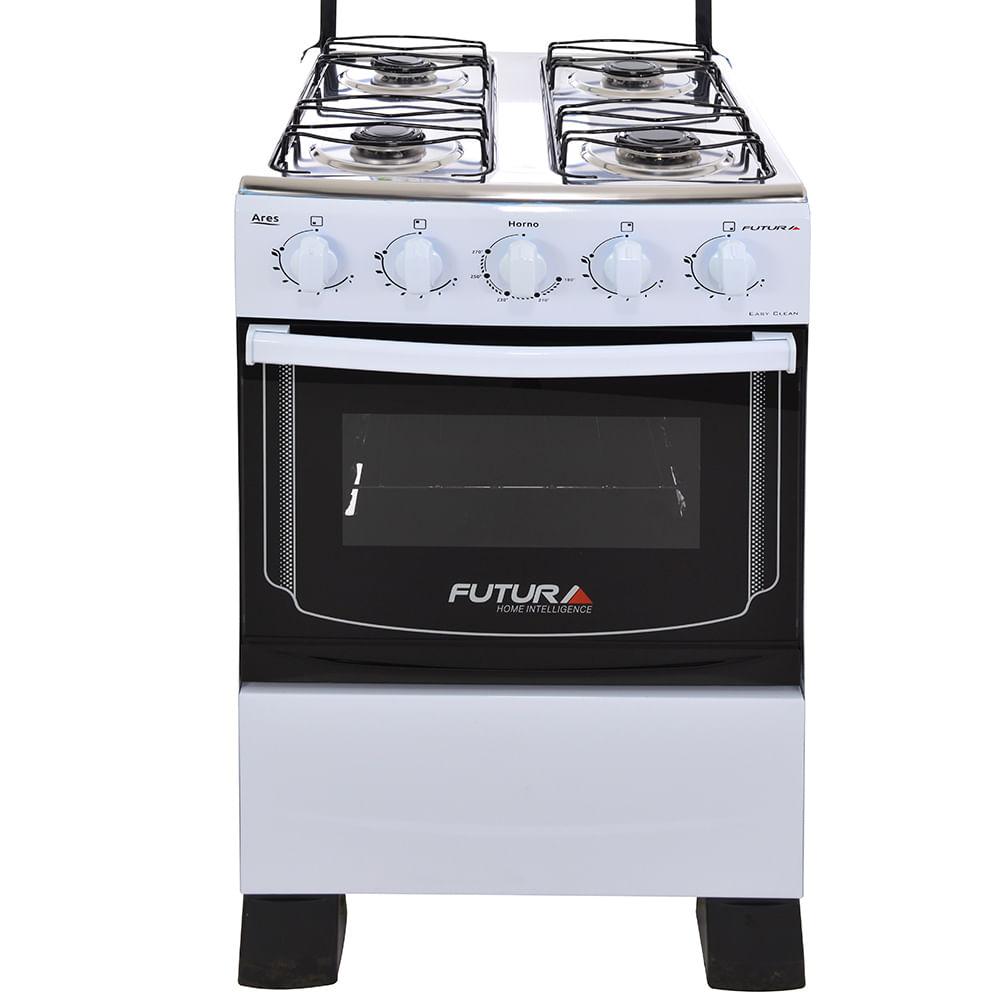 Cocina a gas futura mod ares geant for Ofertas cocinas a gas