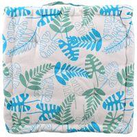 Almohadon-Tatami-40-x-40-x-7-cm-con-hojas-azul-y-verde