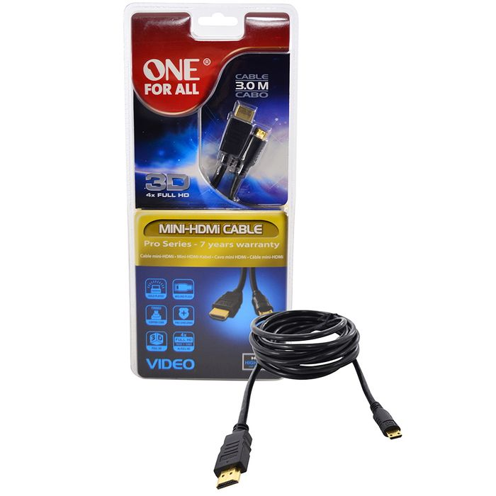 Cable-HDMI-MINI-HDMI-ONE-FOR-ALL-Mod.-CC2250