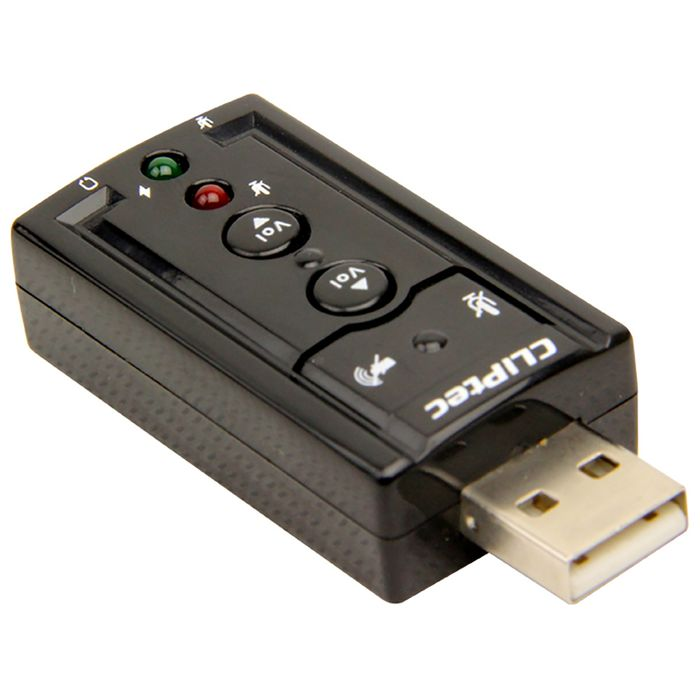 Tarjeta-de-sonido-CLIPTEC-USB-7.1