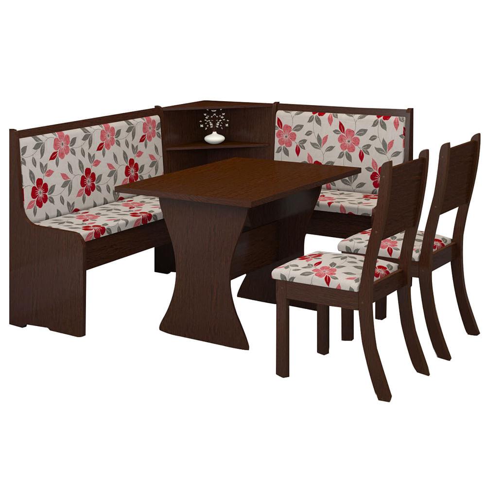 Juego rinconero tapizado mesa 2 silla banco geant for Mesa rinconera para cocina