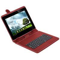 Estuche-con-teclado-KOLKE-9--10--para-tablet--Mod.-KTT-109-rojo