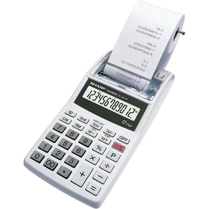 Calculadora-con-rollo-SHARP-EL-1611P