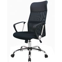 Silla-oficina-base-cromada-con-gas-color-negro