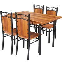 Juego-de-comedor-en-caño-4-sillas
