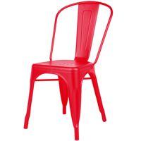 Silla-Mod.-Tolix-de-metal-opaca-color-rojo