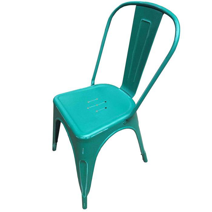 Silla-Mod.-Tolix-de-metal-antique-color-verde