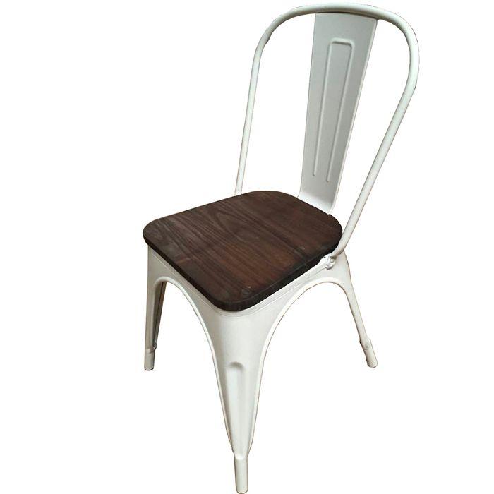 Silla-Mod.-Tolix-de-metal-opaca-asiento-de-madera-color-blanco