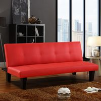 Sofa-cama-color-rojo