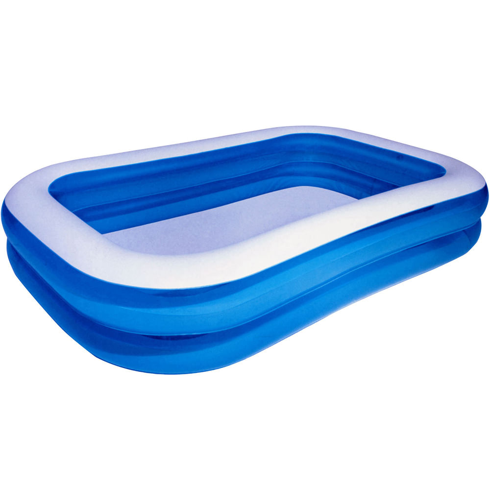 Piscina familiar inflable 450l geant for Calcular litros piscina