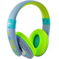 Auriculares-para-niños-TRUST-gris-y-verde