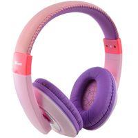 Auriculares-para-niños-TRUST-rosa-y-lila
