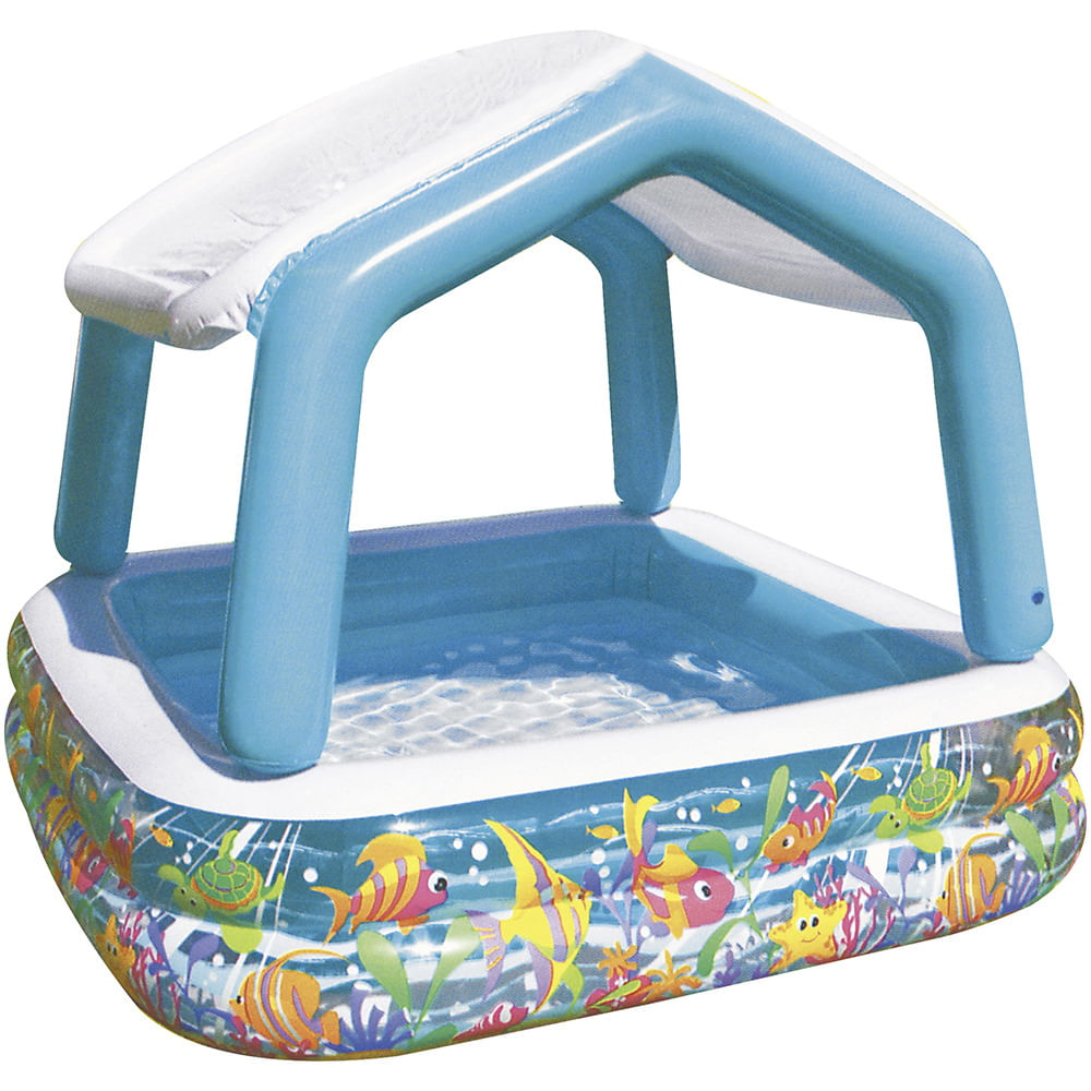 piscina inflable con techo geant
