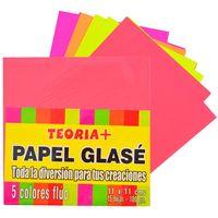 Papel-glace-fluo-15-hojas-5-colores