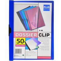 Carpeta-con-clip-A4-PLUS-OFFICE-30-hojas-azul