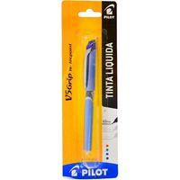 Lapicera-PILOT-0.5-tinta-liquida-con-grip--azul