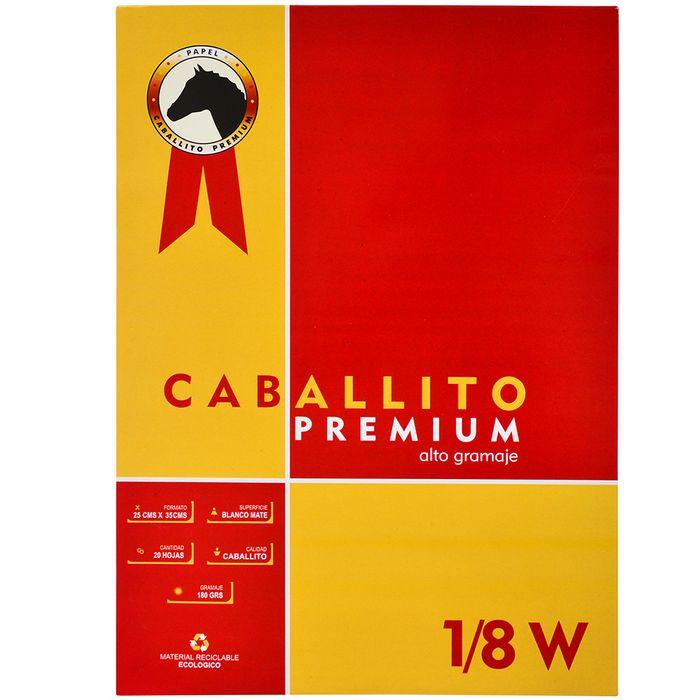 Block-dibujo-1-8-W-CABALLITO-Premium-20-hojas-180-g