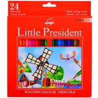 Lapices-de-colores-LITTLE-PRESIDENT-acuarelables-x-24-un.