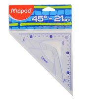 Escuadra-MAPED-Grafic-21-cm-45º