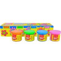 Masa-de-moldear-ART-BERRY-4-potes-de-100-g-celeste-rosa-marron-verde