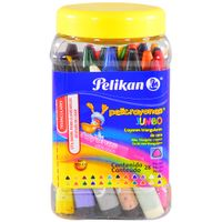 Crayones-PELIKAN-JUMBO-triangulares-pote-28-un.