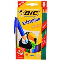 Lapices-de-colores-BIC-Evolution-12-un---1-boligrafo