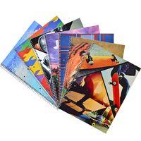 Pack-x-10-cuadernolas-GRAFFITTI-96-hojas-Tapa-Flexible-varios-diseños