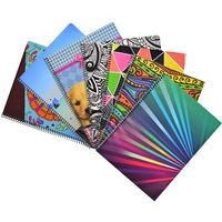 Pack-x-10-cuadernolas-100-h-Super-Tapa-Dura-varios-diseños